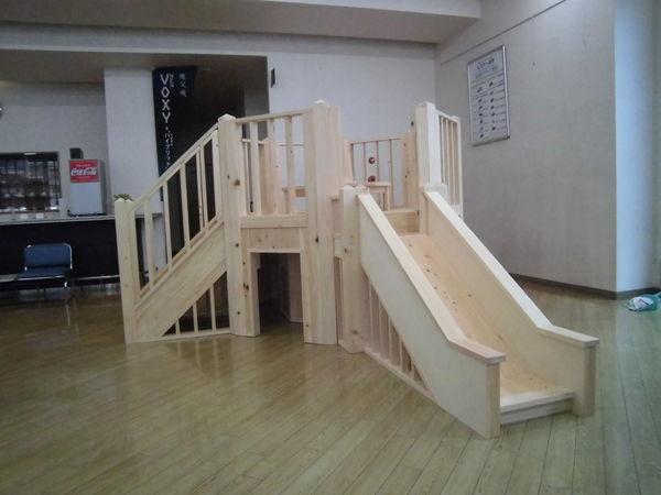 【納品レポート】店舗用屋内大型遊具