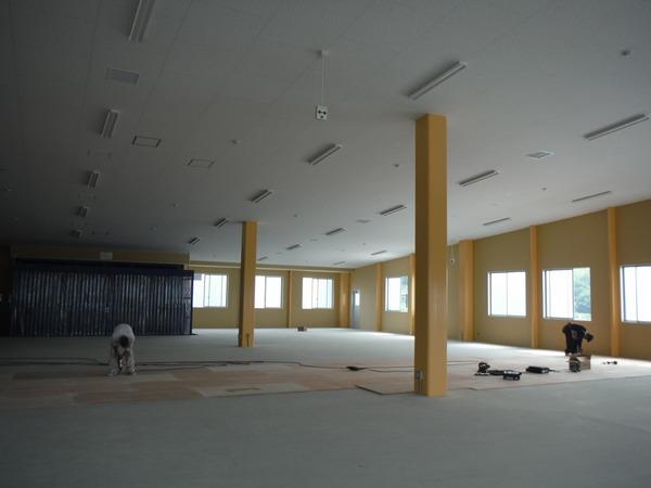 ブログ更新:新社屋工場新設工事 工事レポートVol.3
