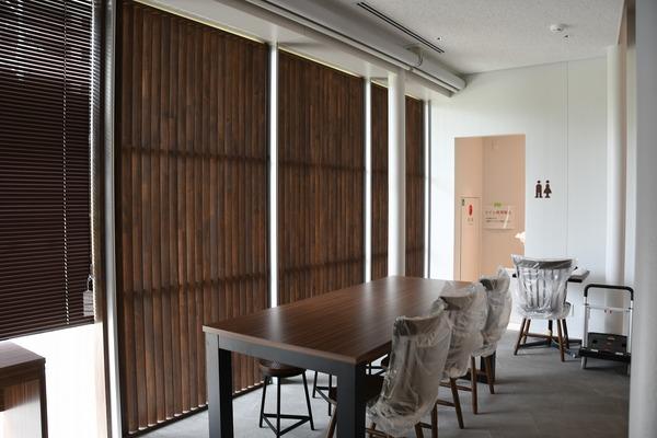 施工事例更新:M図書館内カフェ