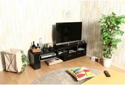 伸縮TVボード BK